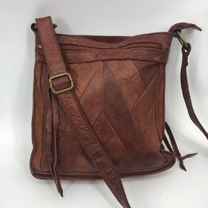 Crossbody leather patchwork Lucky Brand Bag